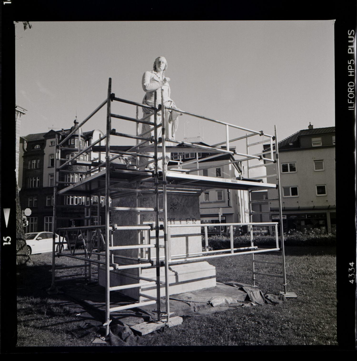 Schiller Denkmal Ludwigsburg