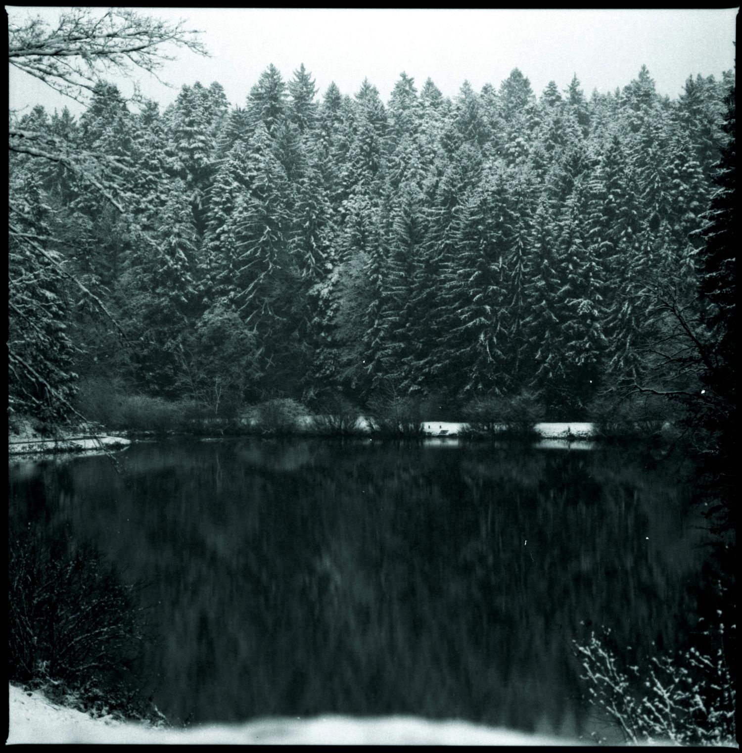 Winter at Hüttenbühlsee