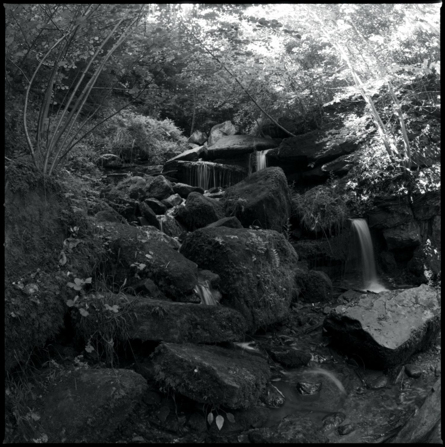 Wasserfall Heslach