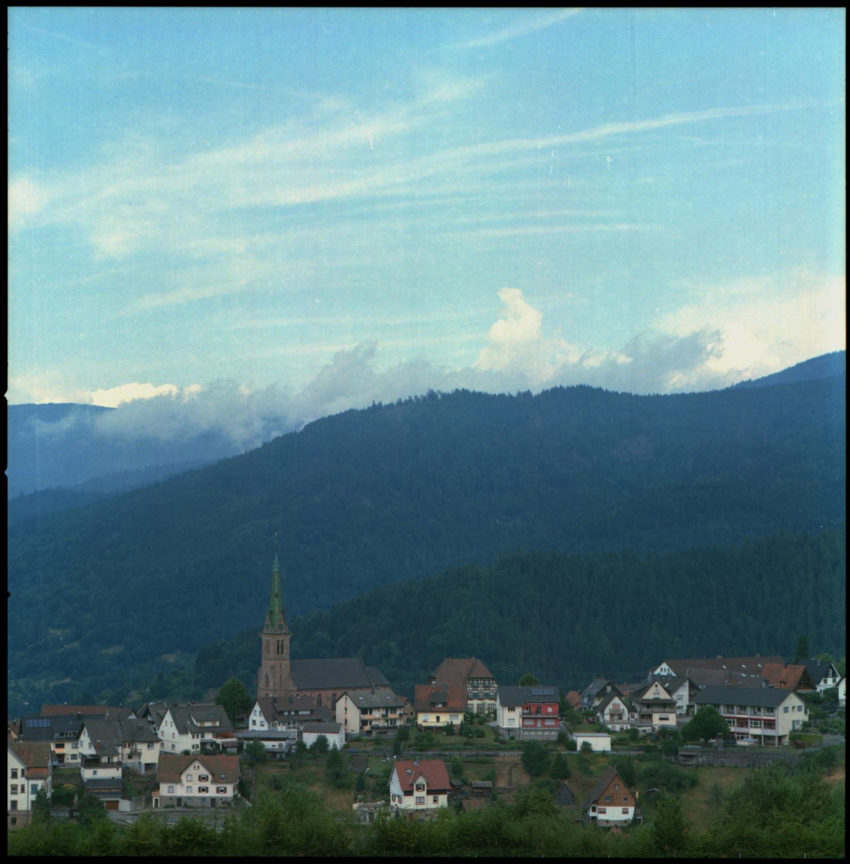 Bermersbach Gemeinde Forbach Schwarzwald