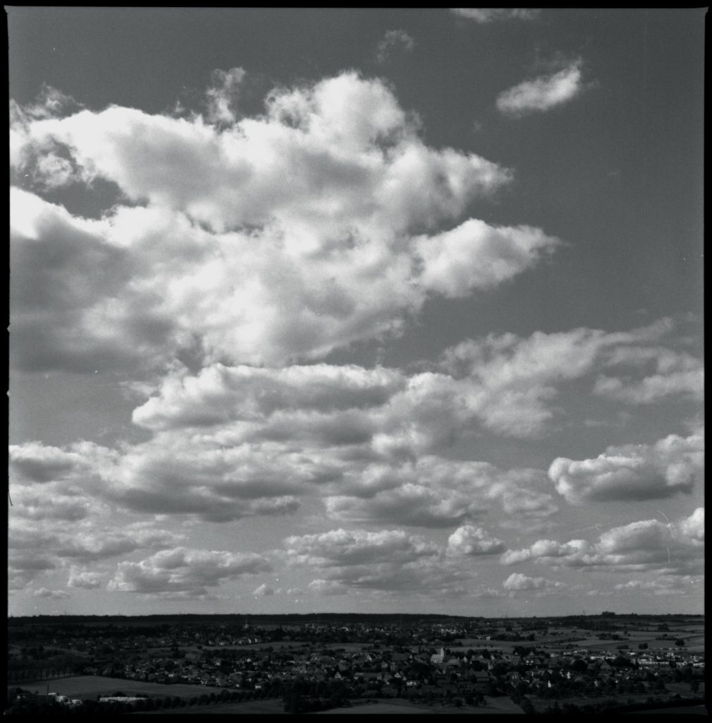 Herrenberg und Himmel über Herrenberg