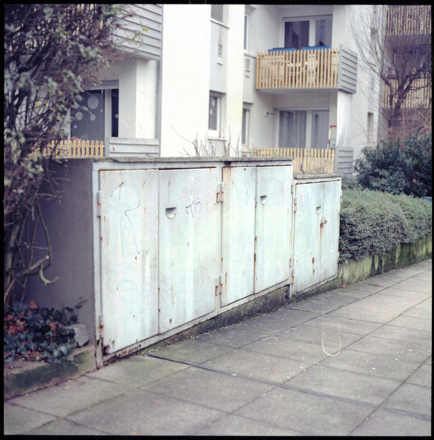 Stuttgart Dustbin Shed Door