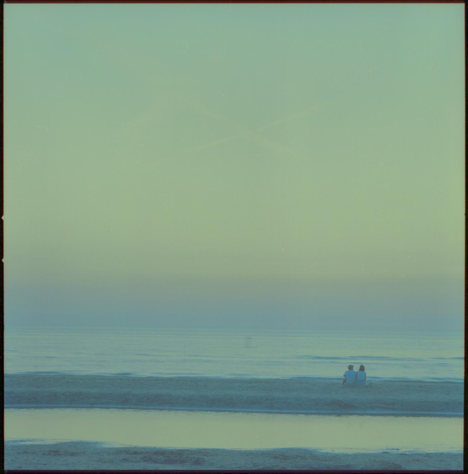 Zandvoort aan Zee Beach after sunset