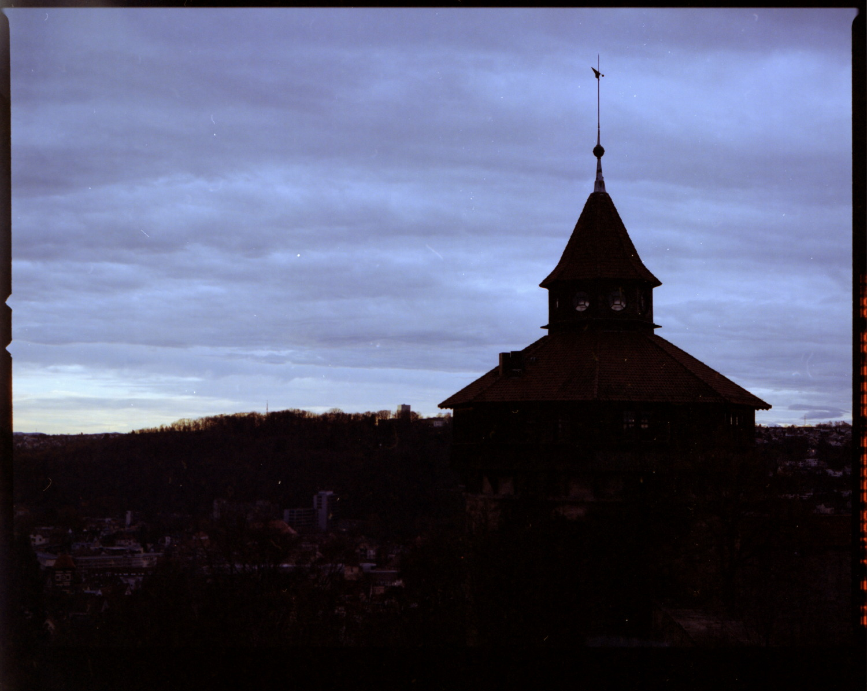 Burg Esslingen Portra 400 Hasselblad H1